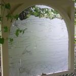 vertical crane window