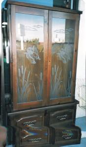 Vertical Gun Cabinet