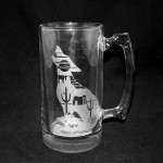 example southwest coyote mug