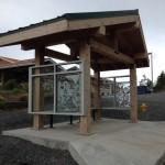 vertical alaska bus stop