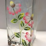 gigi painted vase