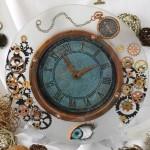 patti derenzo steampunk clock