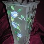 etched vase