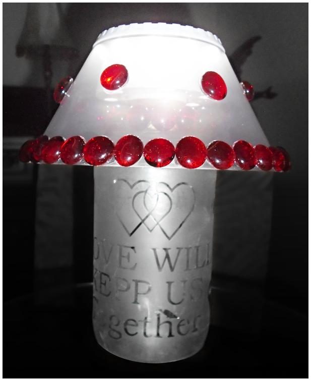 Valentine's Day Lamp