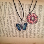 jewelry painted pendants