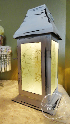 Goodwill Lantern by Angela Holt