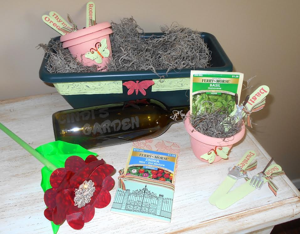 """Garden Gift Basket"" - When Creativity Knocks"