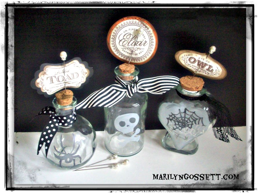 etched halloween bottles etchall