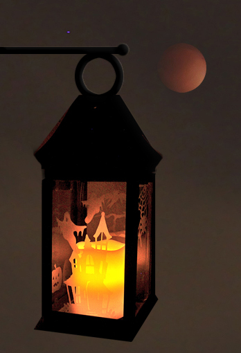 """Halloween Lantern"" by Julie McGuffee"