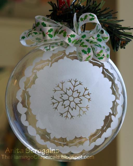 Etchall Christmas Ornament - Anita Scroggins