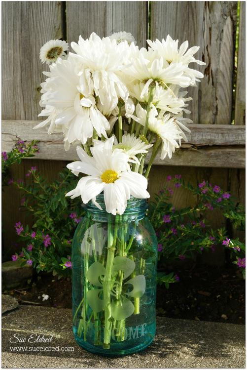 """""""Mason Jar Vase"""" - Sue Eldred"""