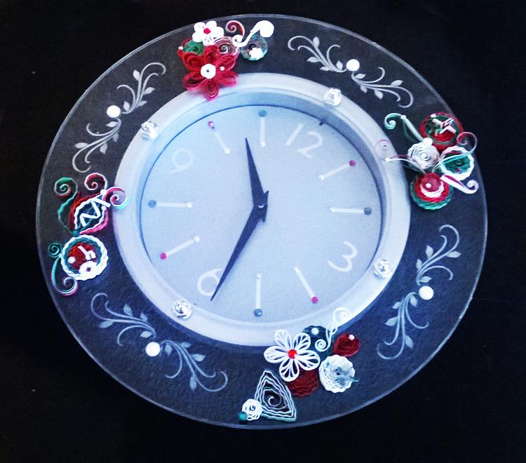 """Quill Clock"" - Lyndia Bosler"