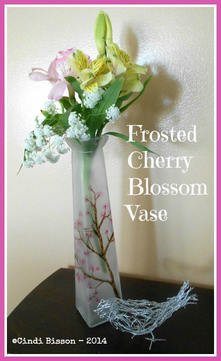 """Cherry Blossom Vase"" - Cindi Bisson McGee"