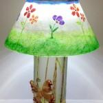 maria spring lampshade