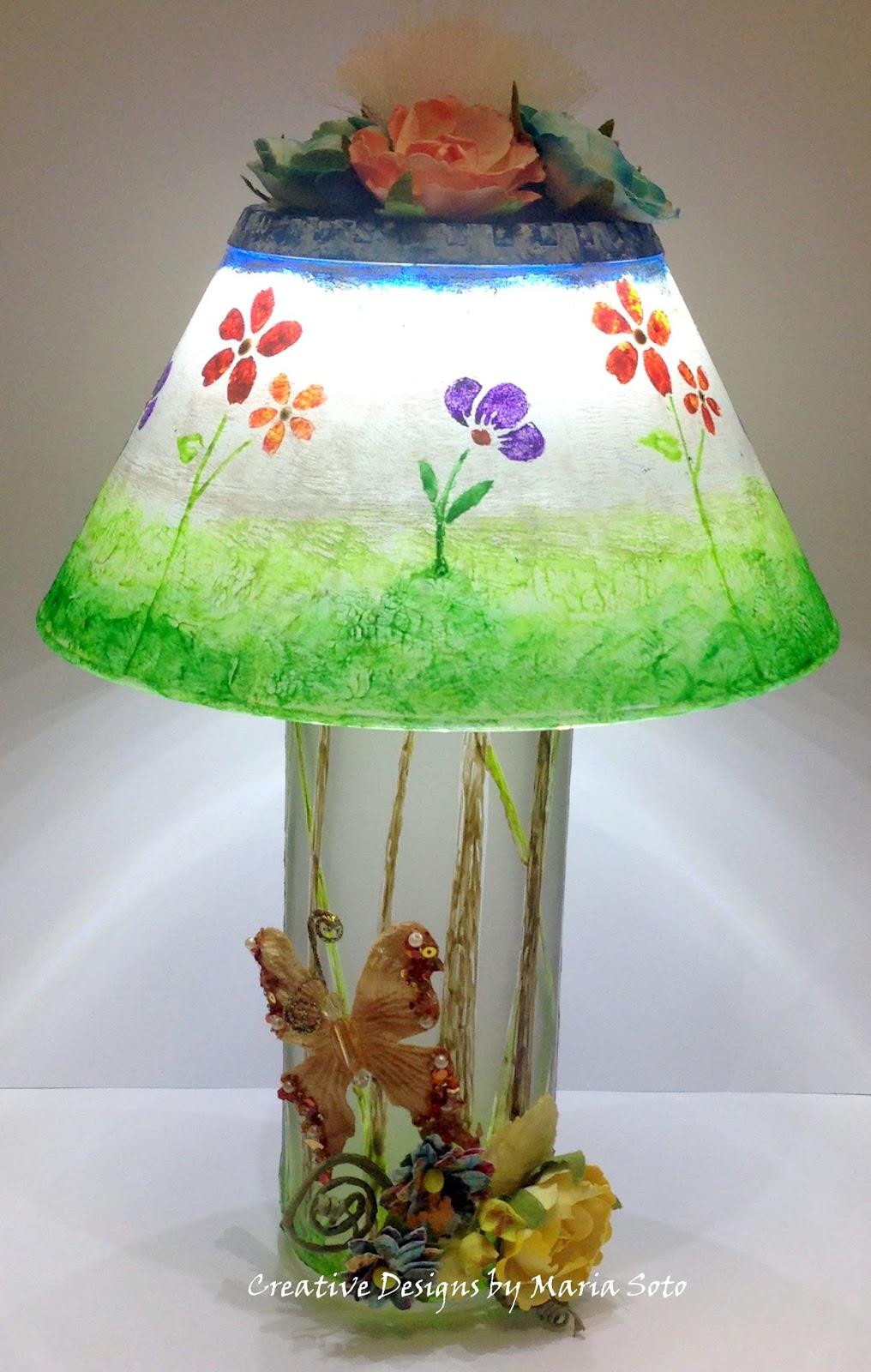 """DIY Spring Lamp"" - Maria Soto"