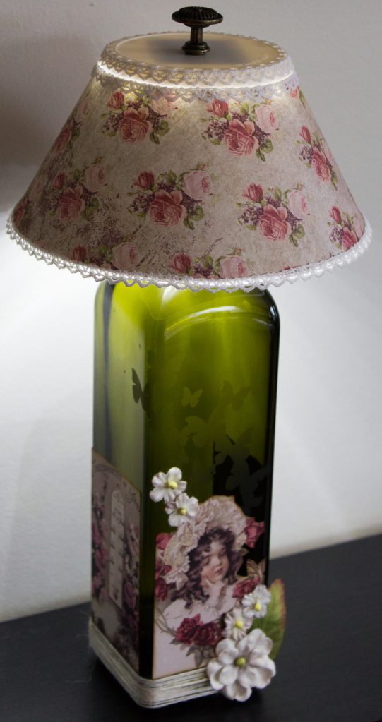 """Upcycled Lamp"" - Candy Spiegel"