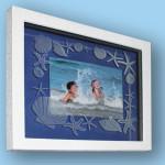 Julie seashell ocean frame