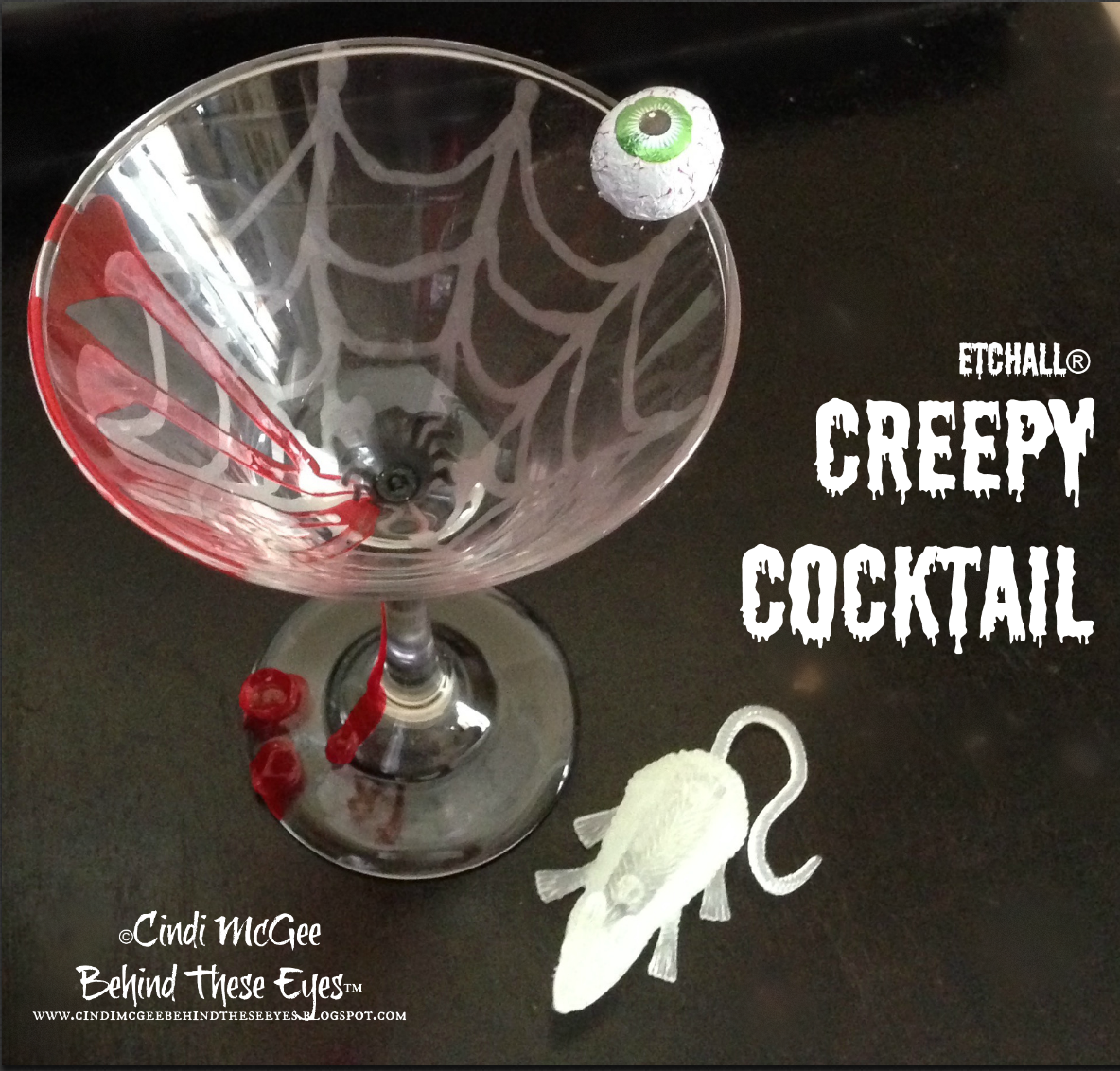 """Creepy Cocktail"" by Cindi Bisson McGee"