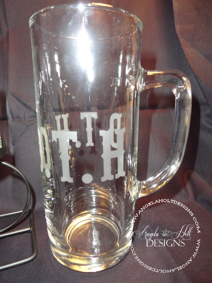 Beer Mug with Initials - Angela Holt