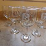 candy spiegel monogram wine glasses