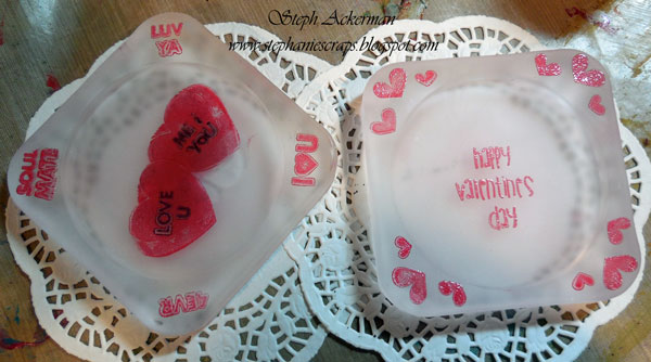 Valentine's Day Coasters - Steph Ackerman