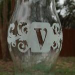 anita scroggins monogram vase