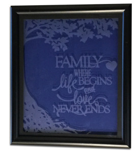 1oakd etchall glass etching family frame
