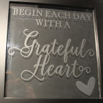 etchall glass etching grateful heart DIY