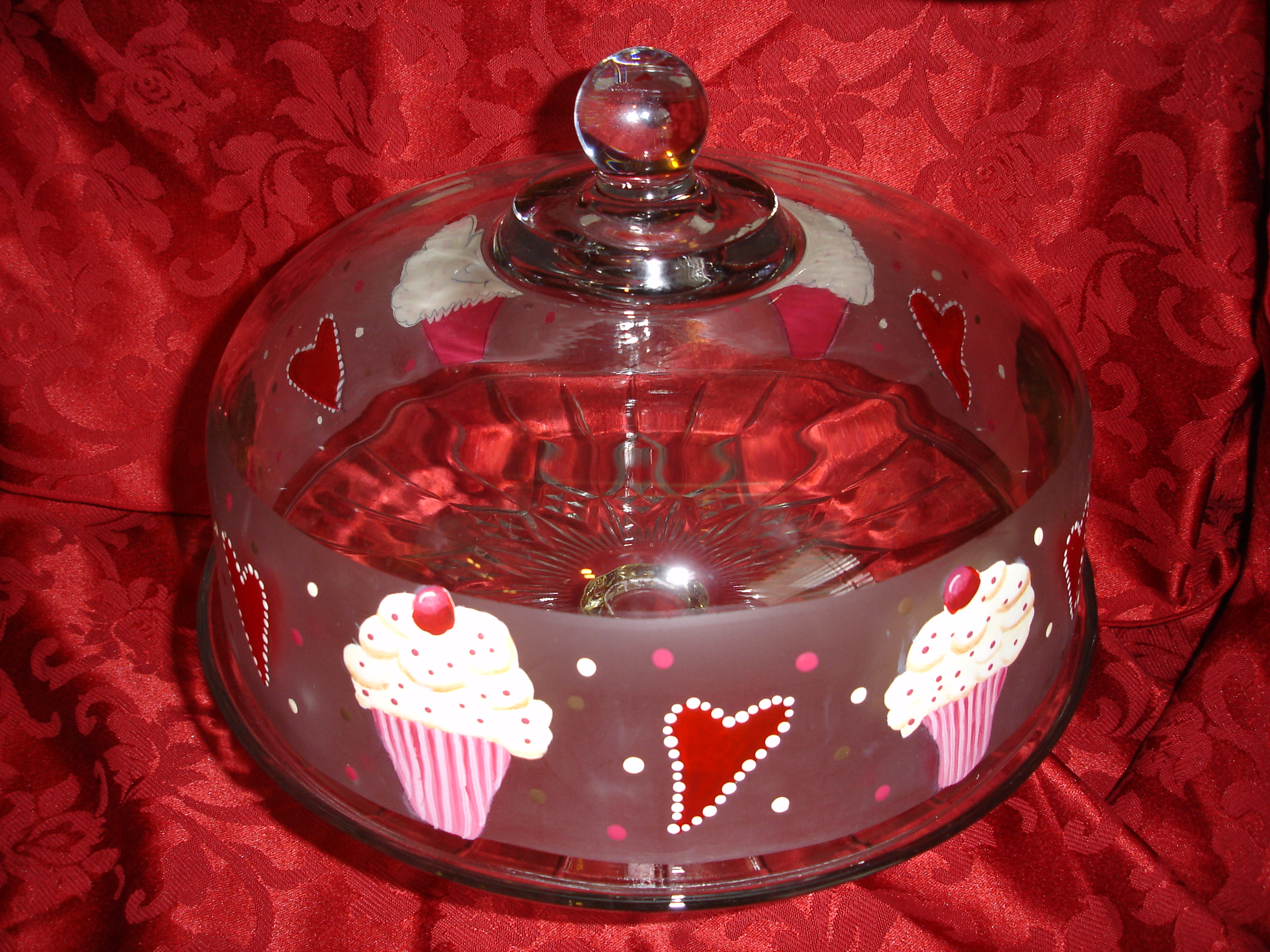 Cupcake Dome by Vicki Alley