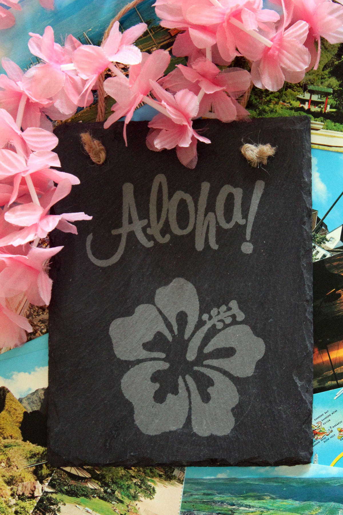 Julie McGuffee aloha sign