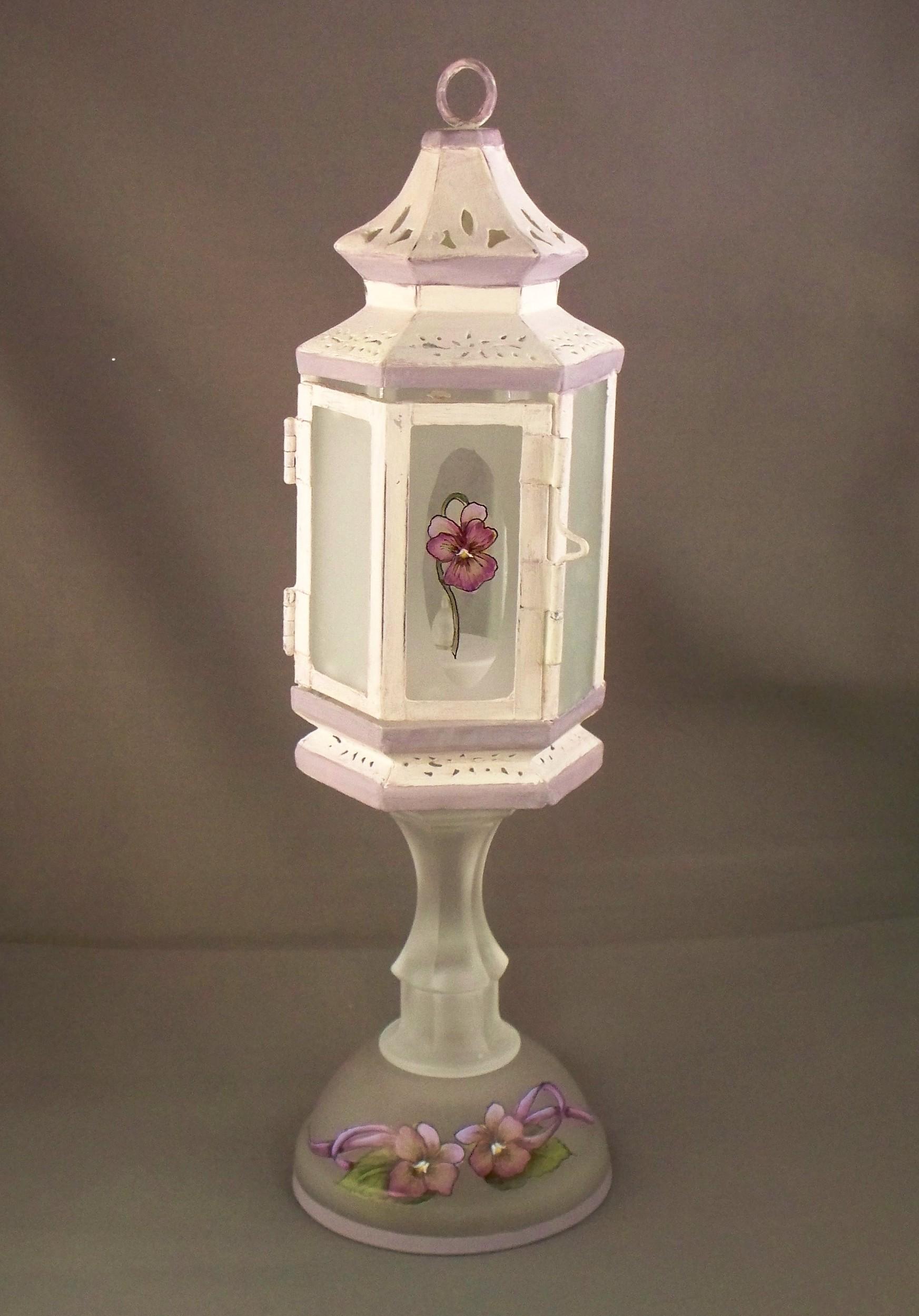Shabby Chic lantern