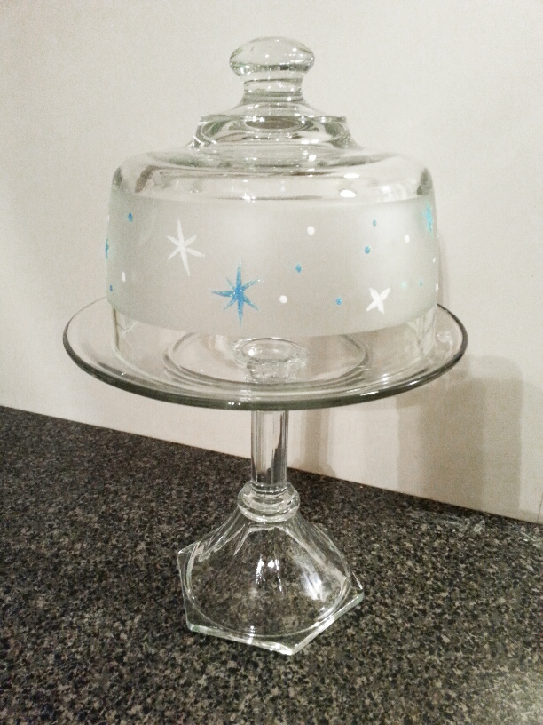 Starry Cake Dome by Vicki Alley