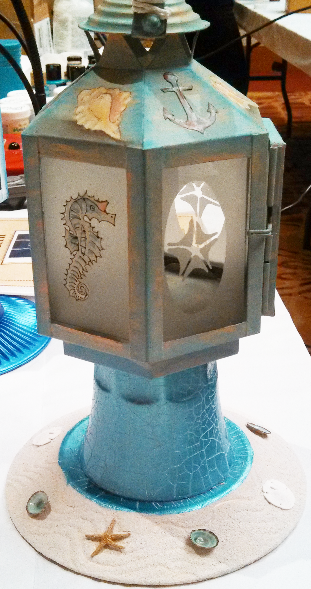 Oceanic Lantern by Patti Derenzo