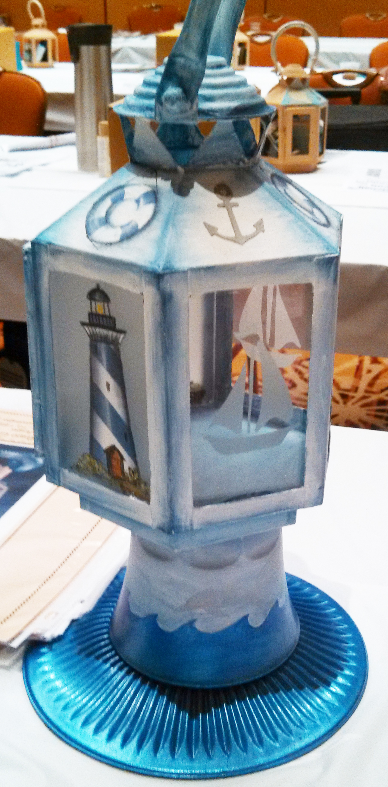 Nautical Lantern by Patti Derenzo