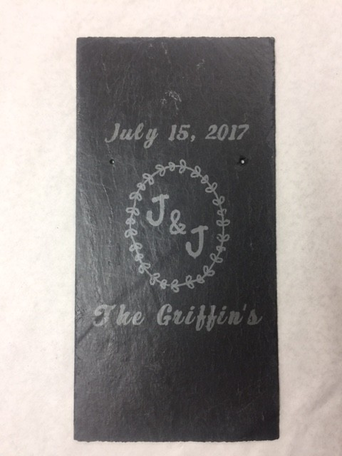 Griffin Anniversary Plaque from Sheryll Kidder's etchall class