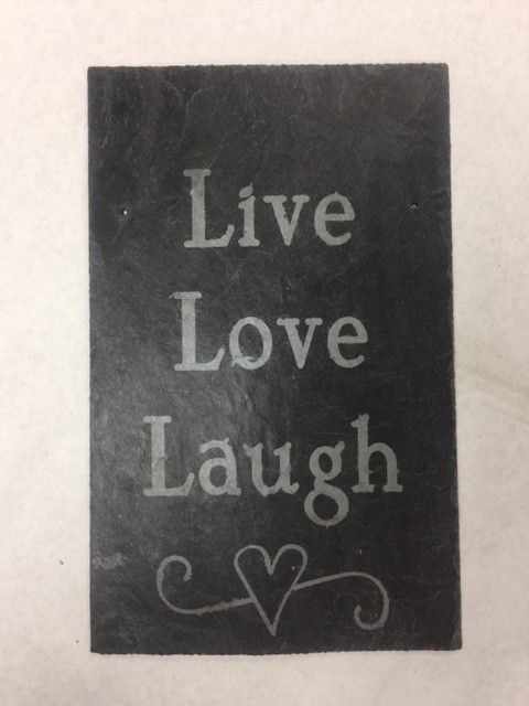 Live Laugh Love by Sheryll Kidder