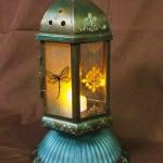 etchall etching cream DIY lantern craft