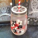 etchall etching cream DIY mason jar craft quilling