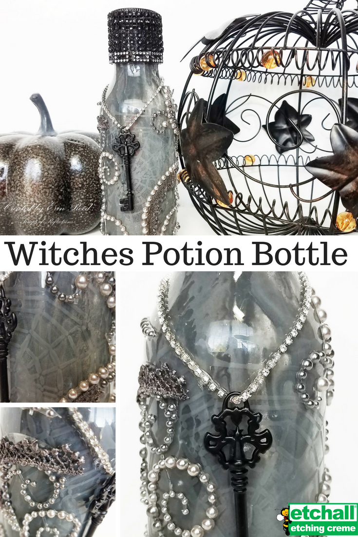 """Witches Potion Bottle"" by Erin Reed"