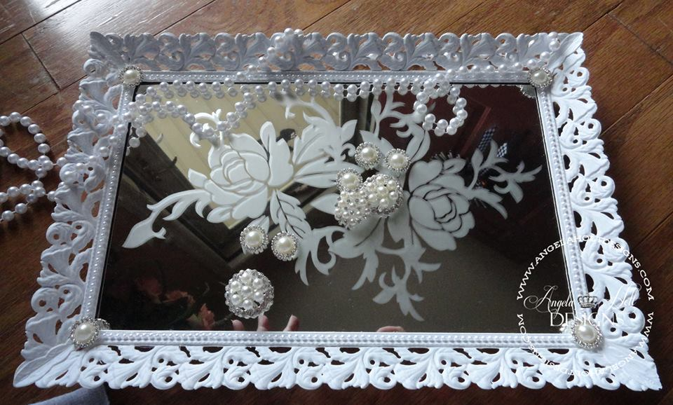 Shabby Chic Jewelry Tray
