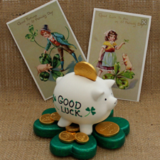 St. Patrick's Day Piggy Bank