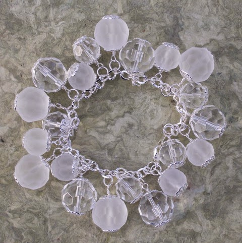 Etched Snow & Ice Bracelet