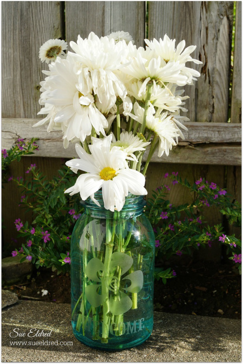 Sweet & Simple Mason Jar Vase