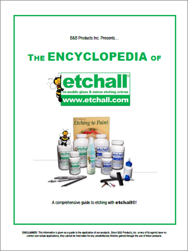 Glass etching with etchall® – Getting started