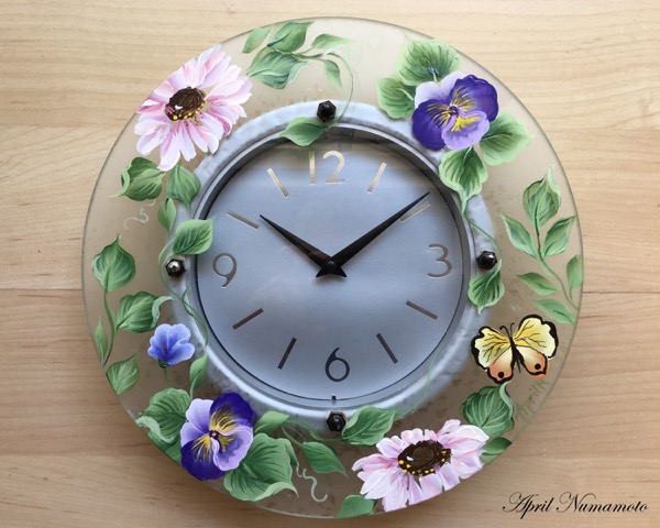 April Numamoto Clock
