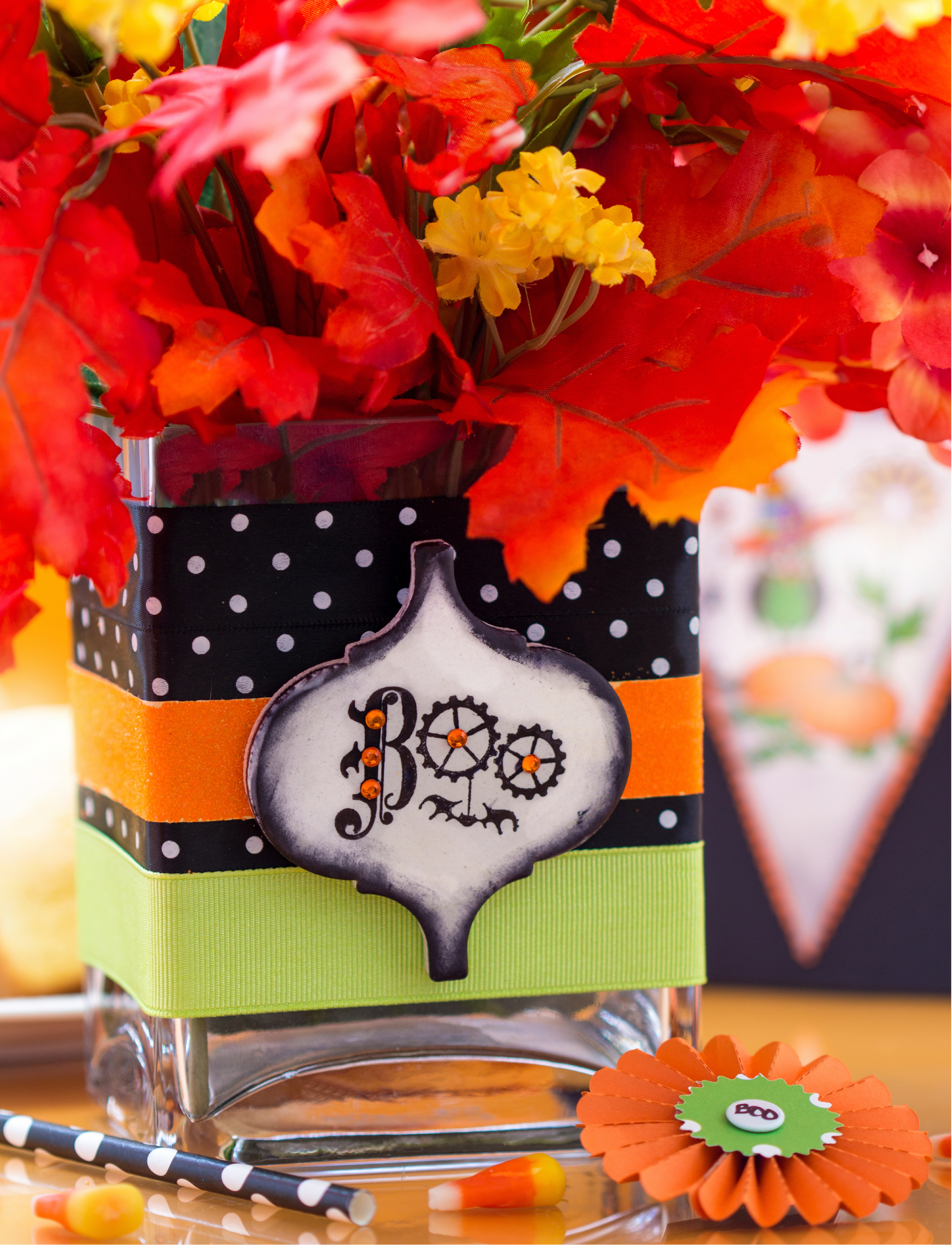 Halloween Treat Favors Centerpiece