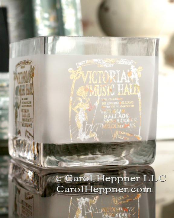 Stamped & Embossed Candle Holder