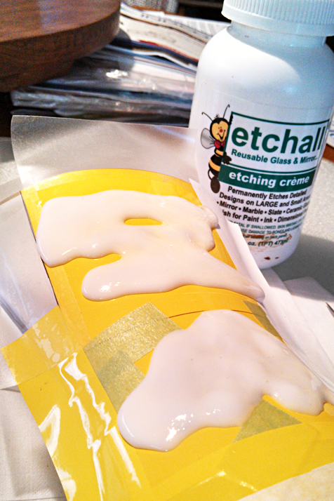 How to etch with etchall® etching creme