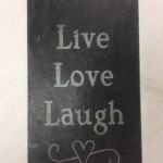 etchall etching cream DIY etched slate