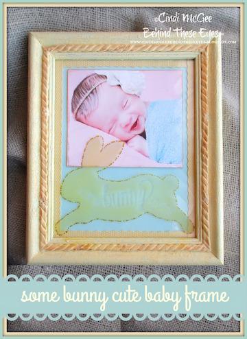 Somebunny Special Baby Frame